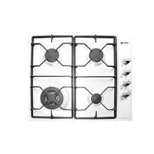 "White 24"" Gas 4 - Burner Side Control"