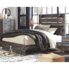 Drystan Queen Panel Bed and Nightstand