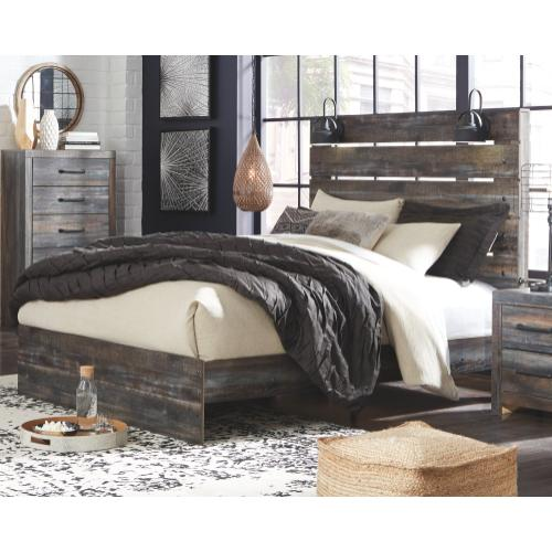 Drystan Queen Panel Bed