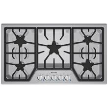 "Masterpiece 36"" Stainless steel gas cooktop 5 Burner SGS365FS"