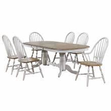 Product Image - Double Pedestal Extendable Dining Table Set - Country Grove (7 Piece)