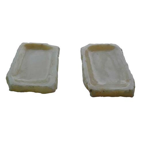 A & B Home - Onix Stone Tray