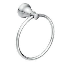 Hilliard chrome towel ring