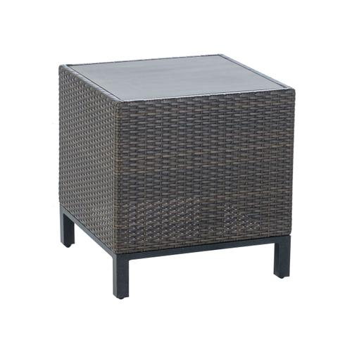 """Franklin 22"""" Square Side Table w/ GRC top"""