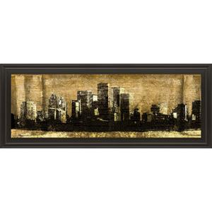 """Defined City Il"" By Sd Graphic Studio Framed Print Wall Art"