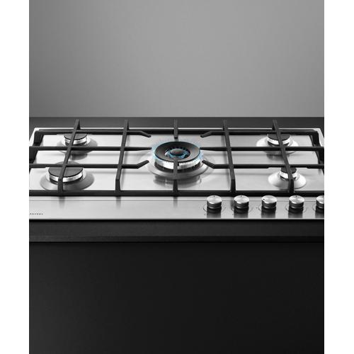 """Fisher & Paykel - Gas on Steel Cooktop, 36"""""""