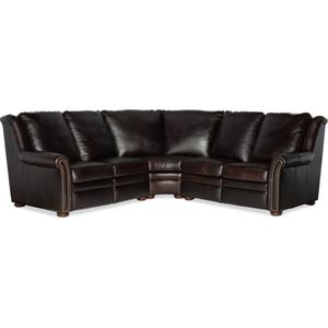Bradington Young Raven LAF Loveseat Recliner At Arm w/Articulating HR 969-55