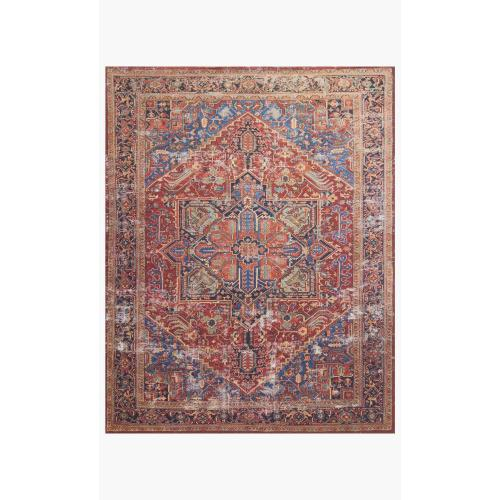 LF-09 MH Red / Blue Rug