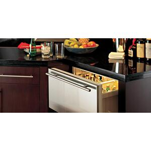 Combination Drawers, One Refrigerator One Freezer Drawer