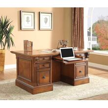 HUNTINGTON Double Pedestal Executive Desk