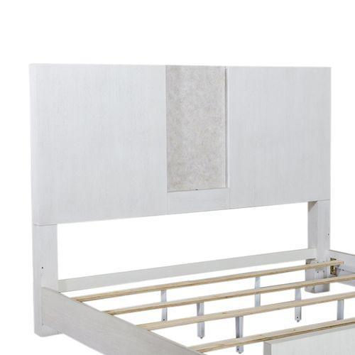 King Travertine Panel Headboard