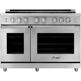 "48"" Gas Pro Range, Silver Stainless Steel, Liquid Propane/High Altitude"