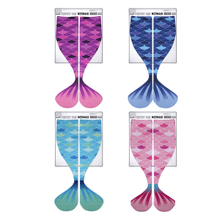 Mermaid Tail Big Kid Socks (12 pr. ppk.)