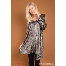 See Details - Awesome Blossom Velvet Dress - L/XL (3 pc. ppk.)