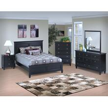 Tamarack Black King Bed