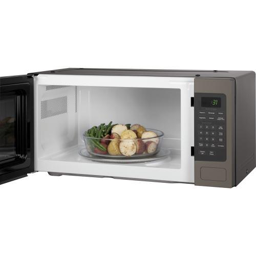 GE Profile 1.1 Cu. Ft. Countertop Microwave Slate PEM10SLFC