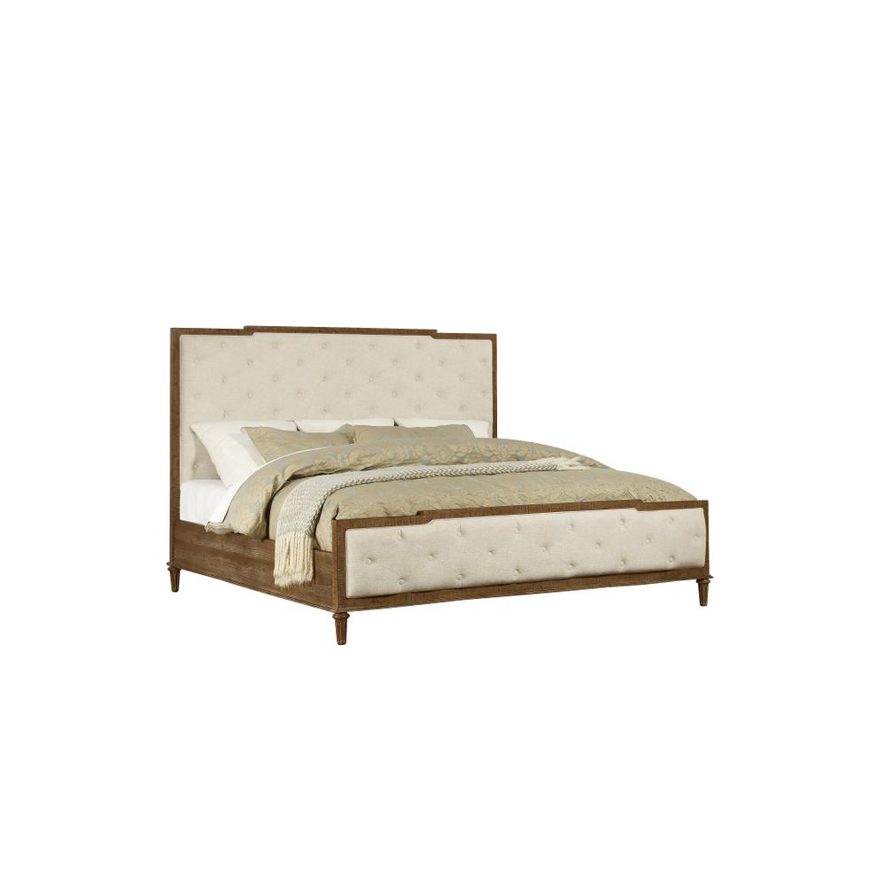 Cal King Tufted Bed