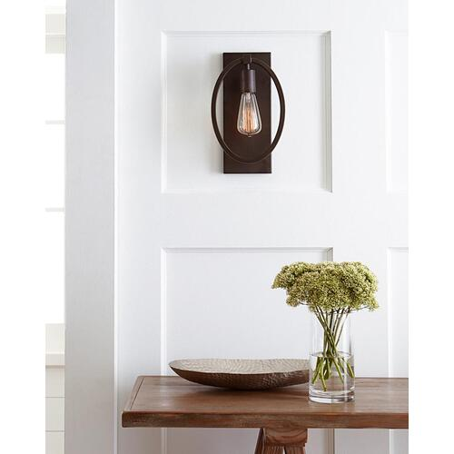 Marlena Medium Sconce Satin Nickel