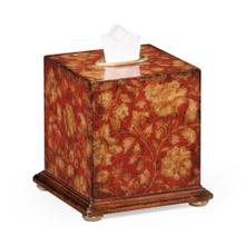 Red Chinoiserie Tissue Box