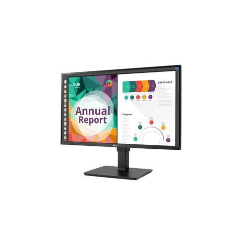"LG - 31.5"" HDR10 IPS UHD 4K Monitor (3840x2160) with DCI-P3 95% (Typ.), AMD FreeSync™, Dynamic Action Sync, Black Stabilizer, MAXX Audio & Ergonomic Design"