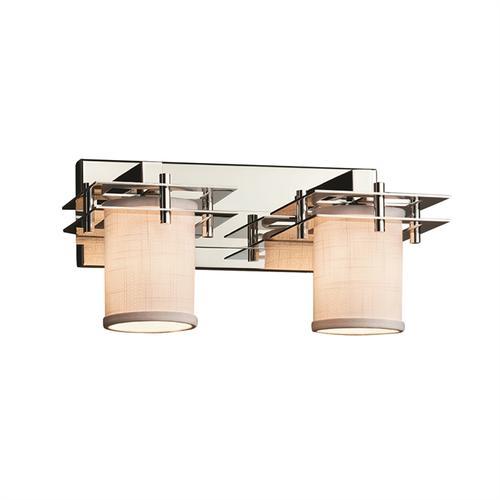 Metropolis 2-Light Bath Bar