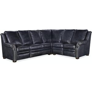Bradington Young Pauley RAF Loveseat Recline At Arm w/Articulating Headrest 942-56
