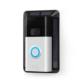 Video Doorbell + Solar Charger (for 2020 Release) - Satin Nickel: Video Doorbell (2020 Release) ships 5/20 - 5/23