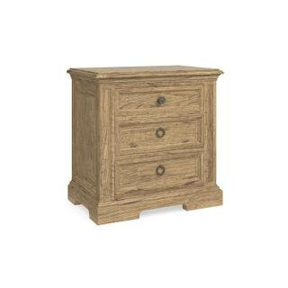 Woodridge 3 Drawer Nightstand
