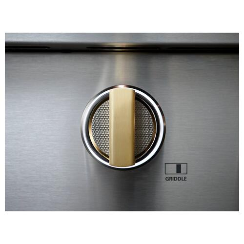 """Monogram 36"""" Dual-Fuel Professional Range with 4 Burners and Griddle (Natural Gas)- Coming Spring 2021"""