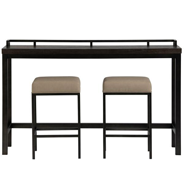 See Details - Irwin Console with Stools