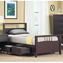 Nevis Queen Storage Bed