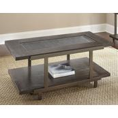 Terrell Cocktail Table W/Caster Insert:918x318x5mm