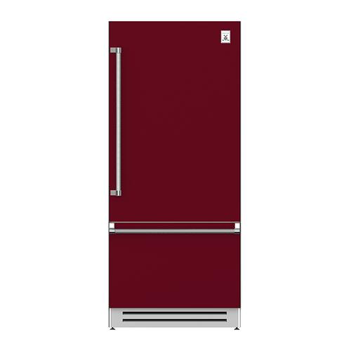 "36"" Bottom Mount, Bottom Compressor Refrigerator - KRB Series - Tin-roof"