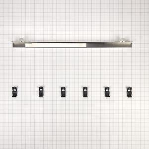JennAir - Built-In Range Flush Installation Trim Kit, Stainless Steel