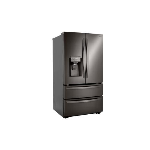 22 cu ft. Smart Counter Depth Double Freezer Refrigerator