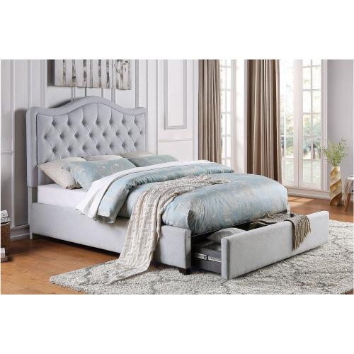 Full Platform Bed with Storage Drawers