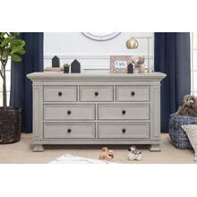 Classic Double-Wide Dresser in London Fog