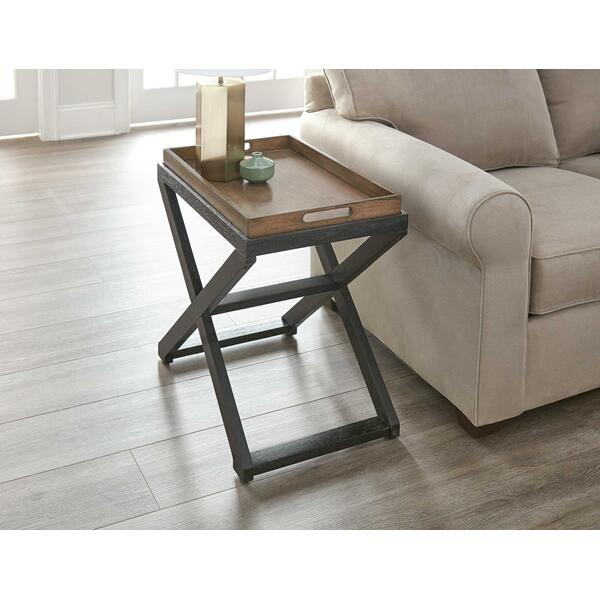 Topeka Chairside End Table