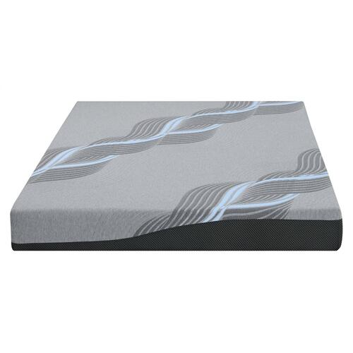 "Emerald Home Mattress Twilight II 8"" Gel-memory Foam Queen 5/0 Es5208qm-01"