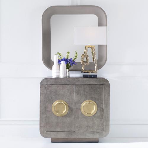 Ambella Home - Shagreen Two Door Cabinet - Venetian