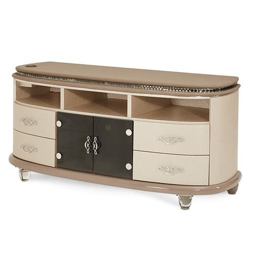 Overture Media Cabinet Cristal