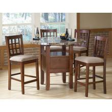 See Details - 5 Pc Marble Top Dinette