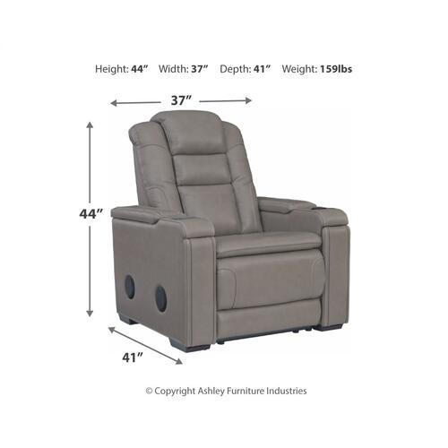 Boerna Power Recliner