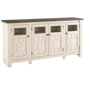 "Ashley FurnitureSIGNATURE DESIGN BY ASHLEBolanburg 74"" TV Stand"