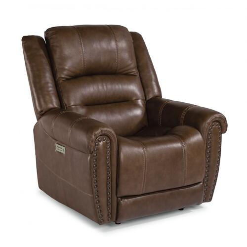 Oscar Power Recliner with Power Headrest & Lumbar