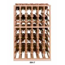 Apex 7' Half Height Modular Wine Rack