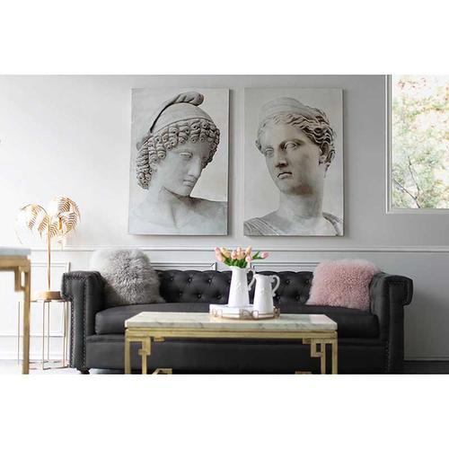 A & B Home - S/2 Antique Chair Wall Art