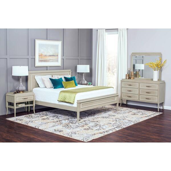 Haley 8-Drawer Dresser Mirror