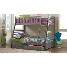 Cooper Grey Bunk Bed