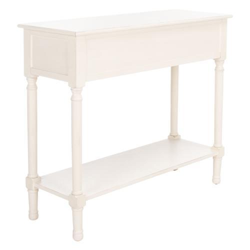 Safavieh - Peyton 2 Drawer Console Table - Distressed White